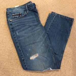 Calvin Klein Slim Boyfriend Jeans